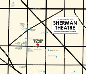 Sherman Theatre Neighborhood Asset Map